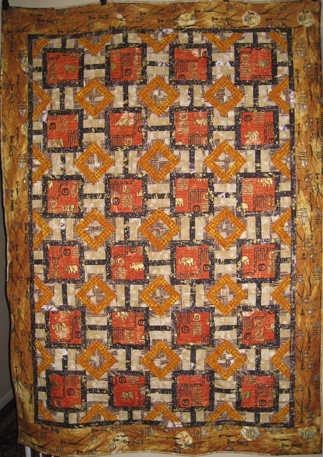 African influenced quiltpcrosthe