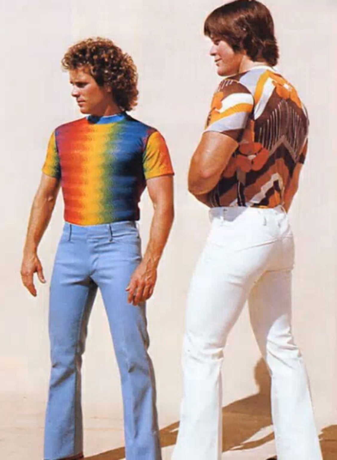 Style Année 70 70 39s Fashion Orange And Yellow Fashion 70s Fashion Men