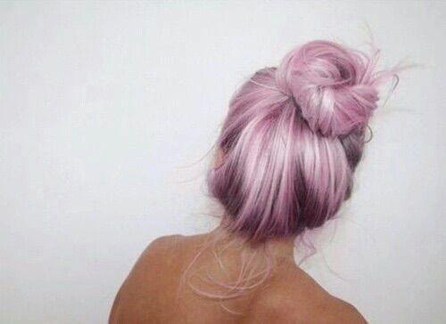 Image via We Heart It #hair #pink