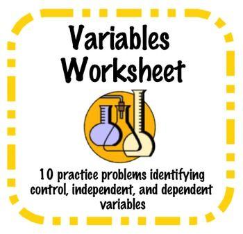 identifying variables worksheet sci method teaching science variables 6th grade science. Black Bedroom Furniture Sets. Home Design Ideas