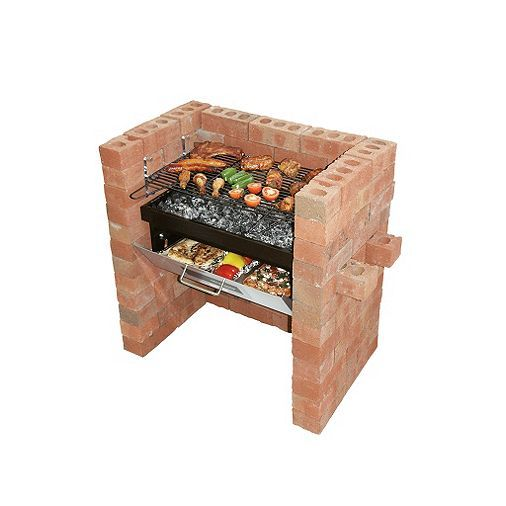 Tesco Direct: Bar-Be-Quick Built In Grill & Bake Charcoal