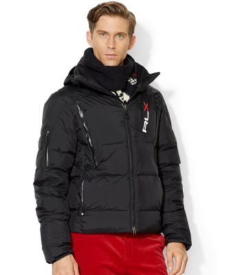 23dc514a27d0 Polo Ralph Lauren Rlx Quilted Down Jacket Mens Wool Coats