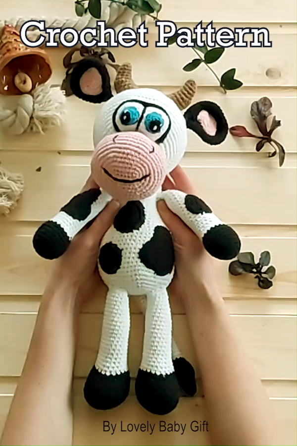 Photo of Amigurumi Cow Crochet Pattern
