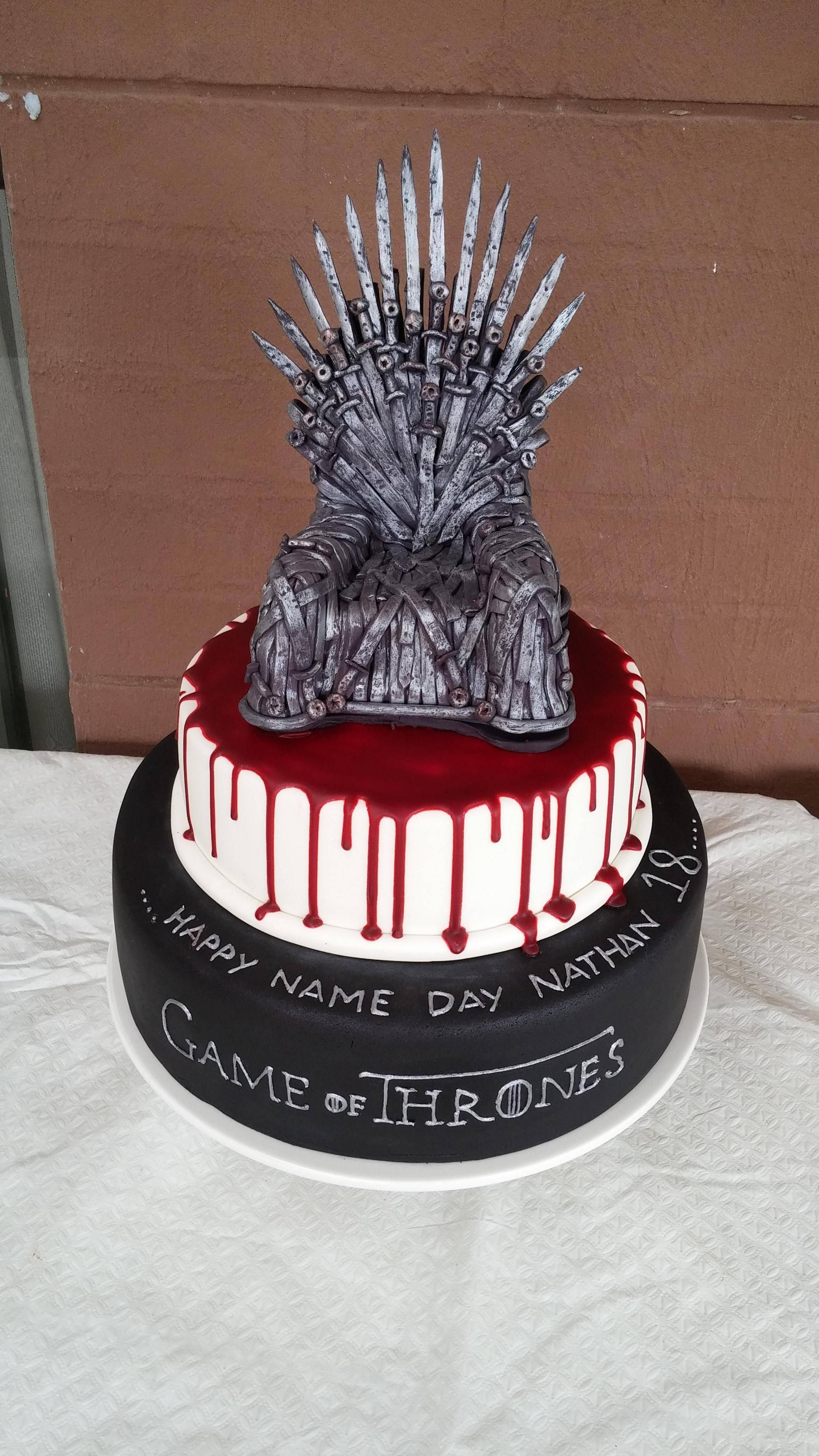 Game Of Thrones Cake Game Of Thrones Cake Cake Games Cake