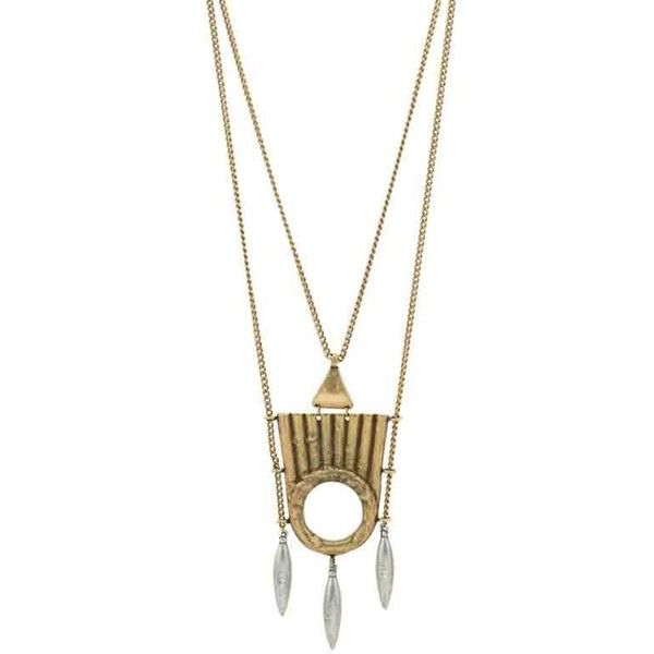Low Luv by Erin Wasson Spinning Talisman Necklace ($143) ❤ liked on Polyvore