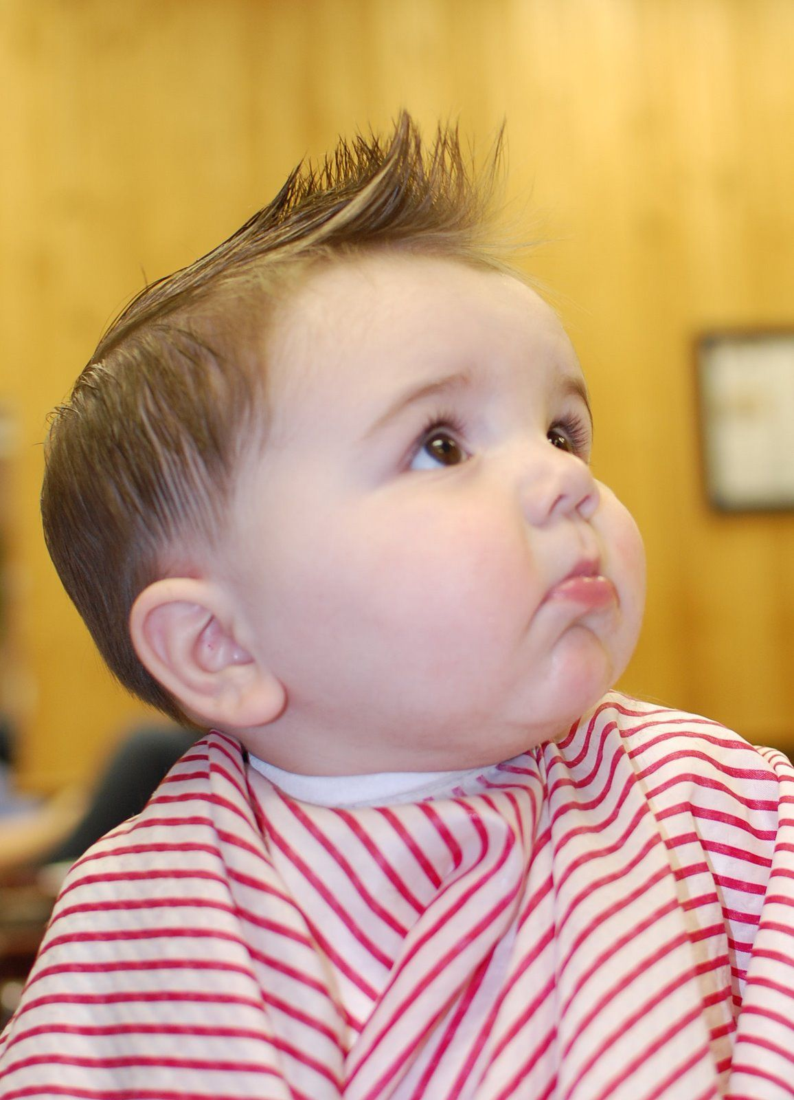 Girl Hairstyle 2017: Baby Boy First Haircut Styles