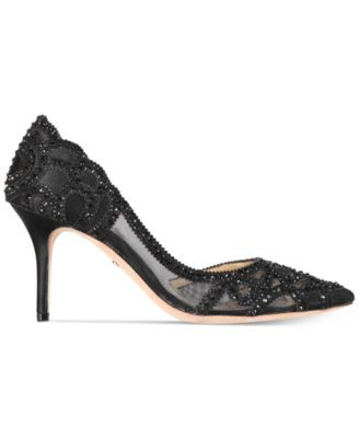 cee37141f9e Badgley Mischka Marissa Embellished Evening Pumps