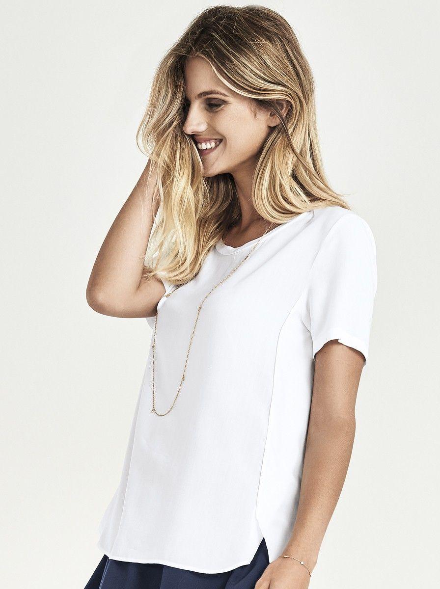 26c688a9ec Blusa feminina em viscose leve e macia. Contempla modelagem solta ...