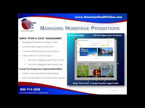 Need An Insurance Website This Webinar Explains Our Website