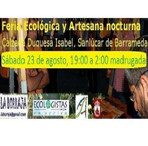 FERIA ECOLÓGICA Y ARTESANA NOCTURNA ecoagricultor.com