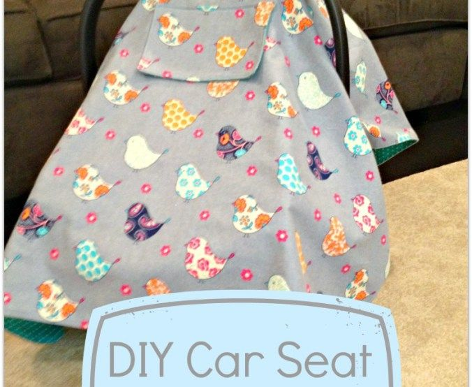 DIY Car Seat Cover Tutorial with a window! | Babies | Pinterest ...