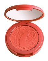 """Tarte Amazonian Clay 12-hour Blush  in """"Tipsy"""" (coral) - Love coral for my skin tone - this is the closest I found to the M.A.C. color they discontinued (Foolish Me)"""