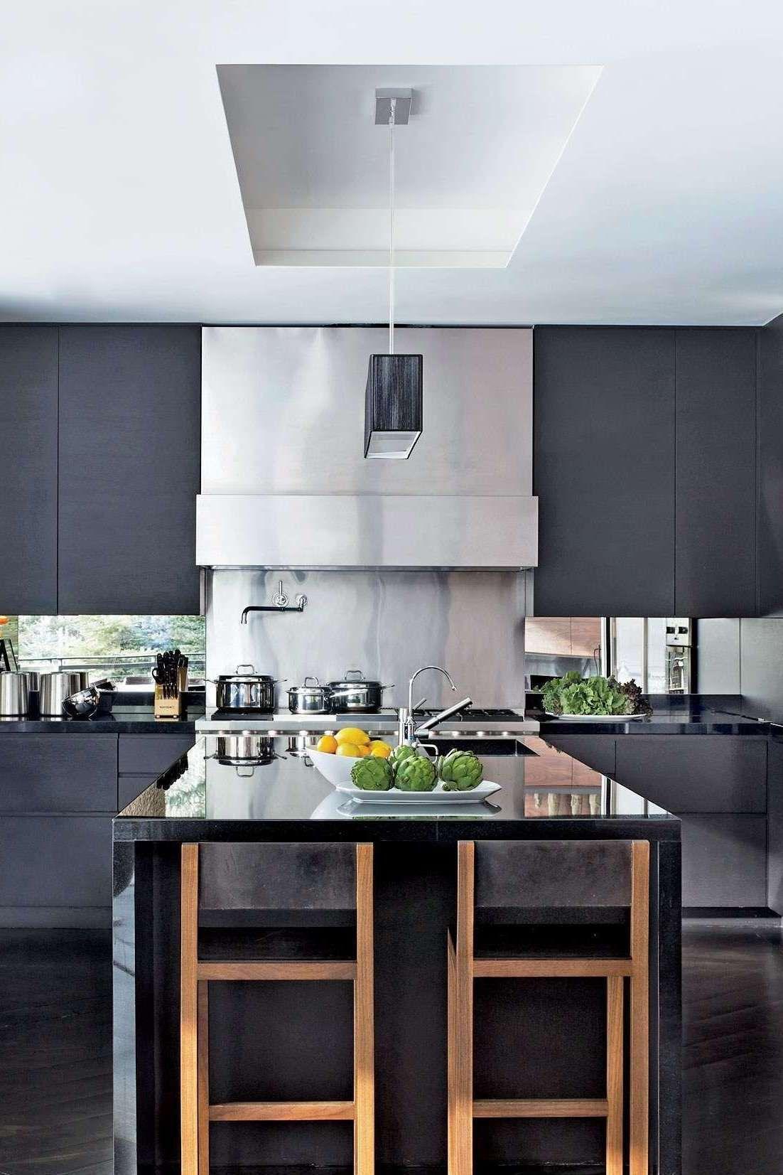 modern-kitchen-makeovers-kitchens-island-stools-lighting-ideas