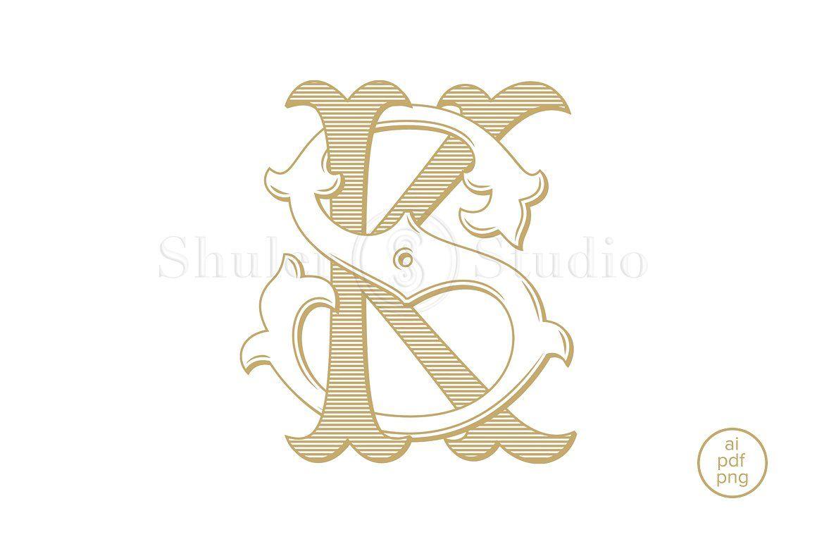Ks Monogram Sk Monogram Wedding Logo Monogram Letter Art Design Photography Logo Design