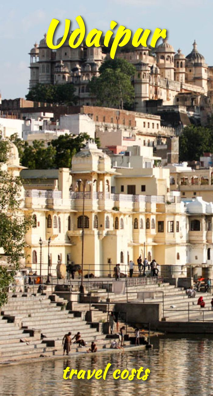 Udaipur Travel Costs & Prices Lake Pichola, City Palace