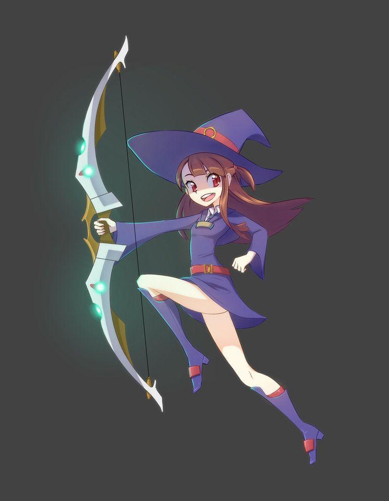 Little Witch Academia - Akko Kagari by Kusotoko