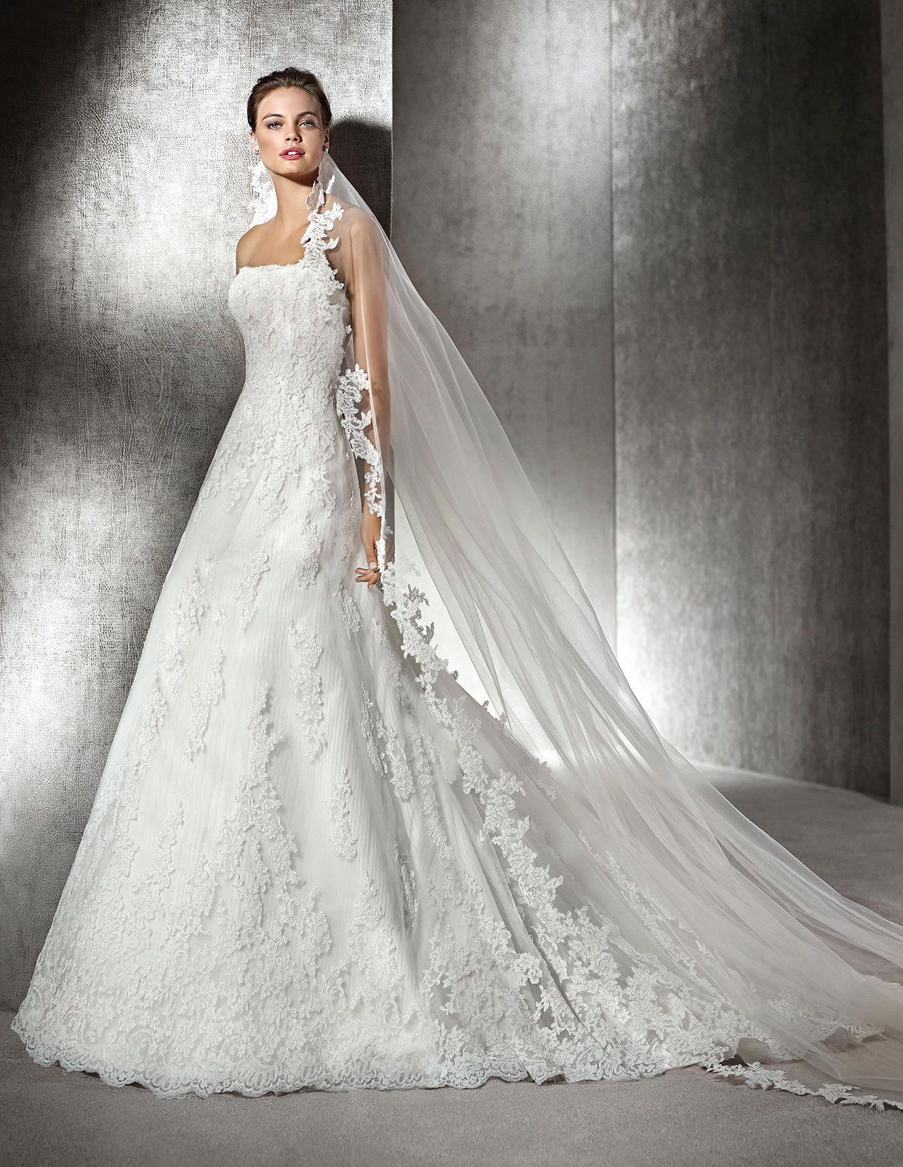 Popular AMERICA Mermaid wedding dress with sweetheart neckline St Patrick