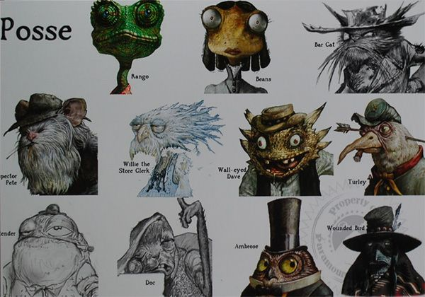 rango character design google search short story