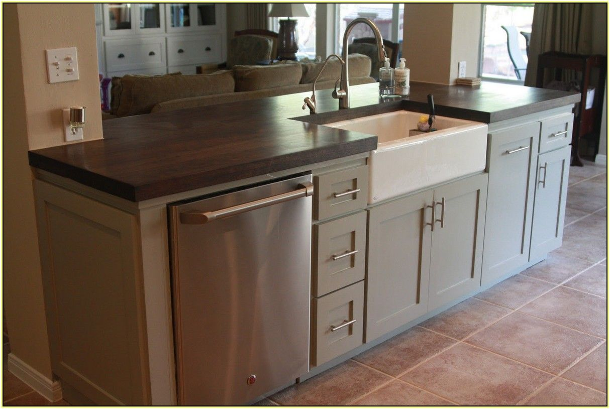 Kitchen Sink Island : about Kitchen Island With Sink on Pinterest Kitchen island sink ...