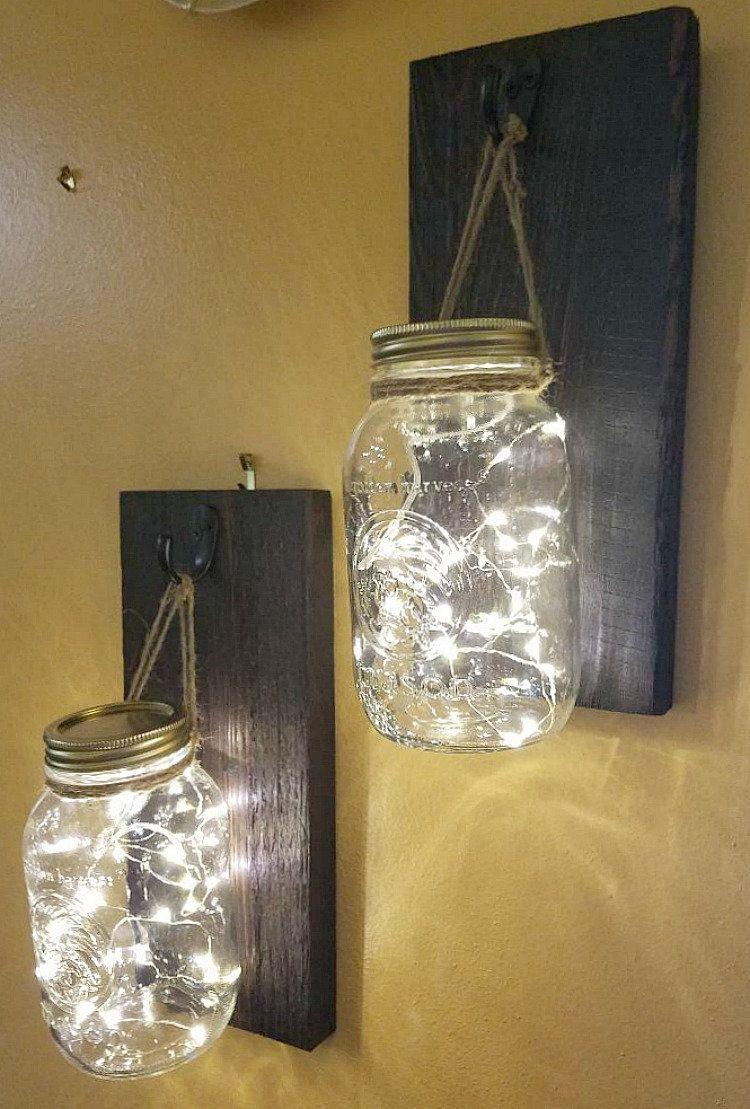Mason Jar Patio Fairie Lights Etsy In 2020 Mason Jar Crafts Diy Mason Jar Diy Mason Jars