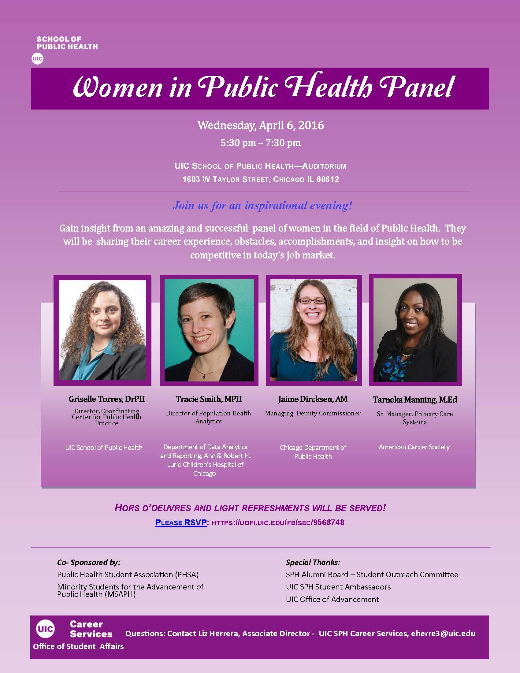 2016 Women in Public Health Public health, Photo, Public