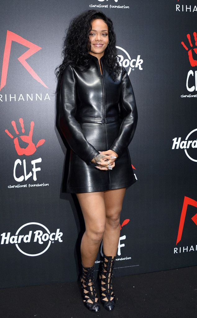 Leather Lady from Rihanna's Best Looks