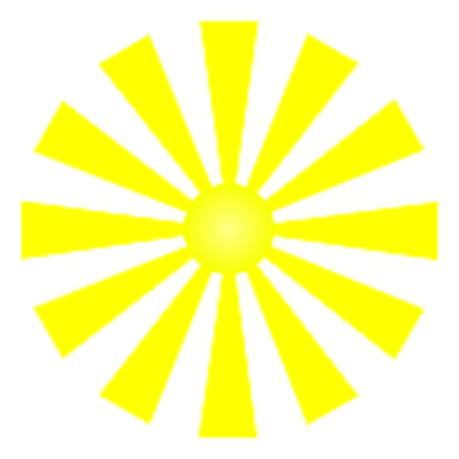 Albert's Burner Service Inc Sun clip art, Clip art, Green