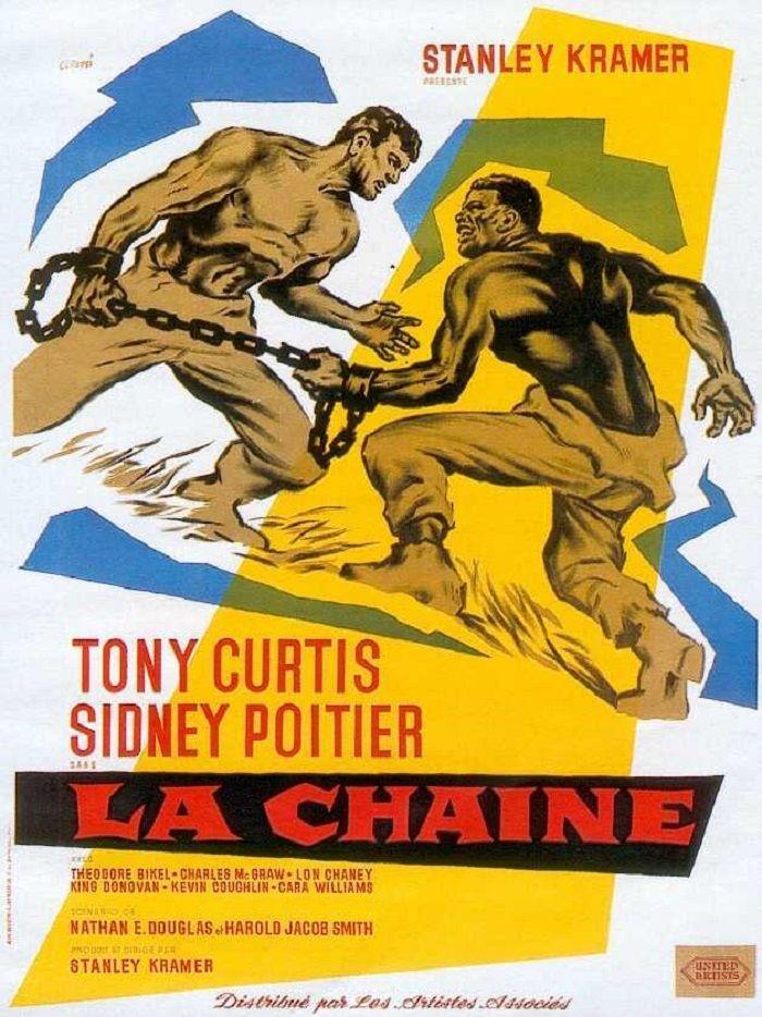1959 LA CHAINE Films complets, Tony curtis, Film