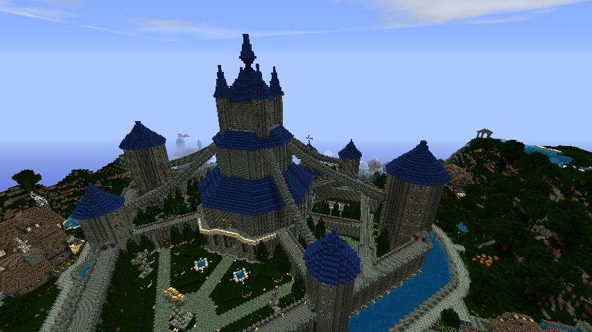 Hyrule Castle Twilight Princess Minecraft Project Twilight Princess Castle Twilight