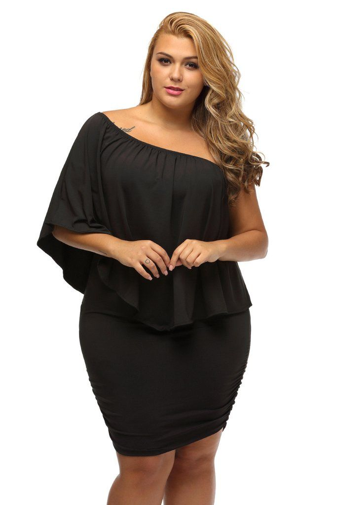 The Plus Size Multiple Dressing Layered Mini Dress Is A Fashion Must