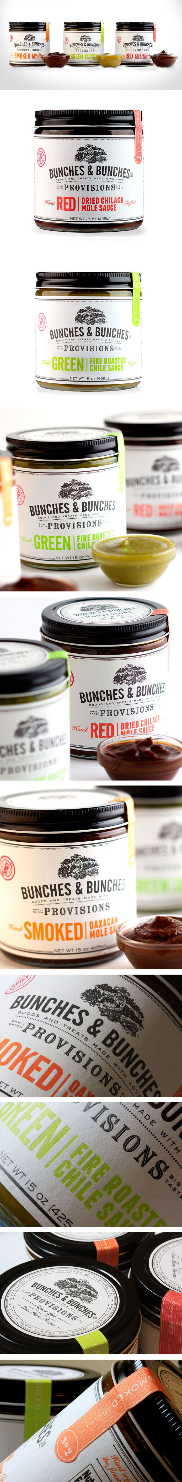 Unique Packaging Design on the Internet, Bunches & Bunches #packagingdesign #packaging