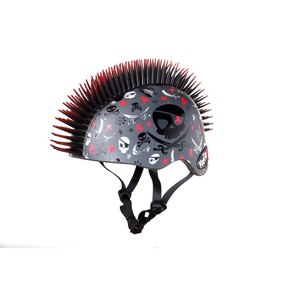 Krash x child helmet pirate skull mohawk cpreme toys