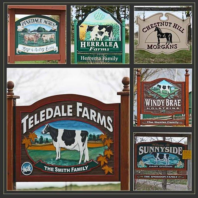 farm signs signs of interest animal farm signs from eg ontario