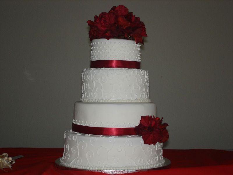 Red And White Wedding Cake Ideas 7 Love This Amanda