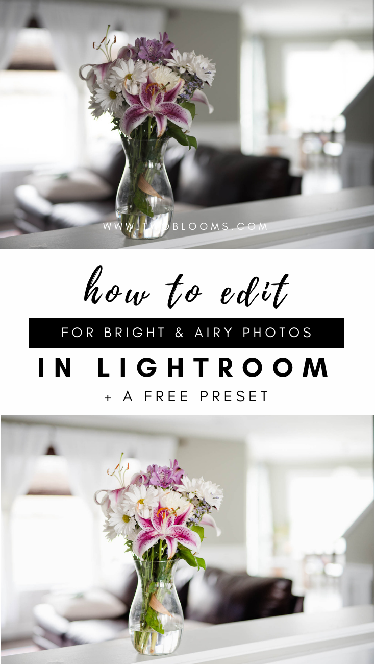 How to create a light-filled photo in Lightroom + a free