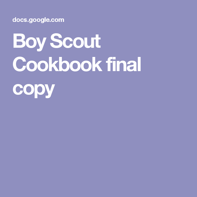 Boy Scout Cookbook final copy