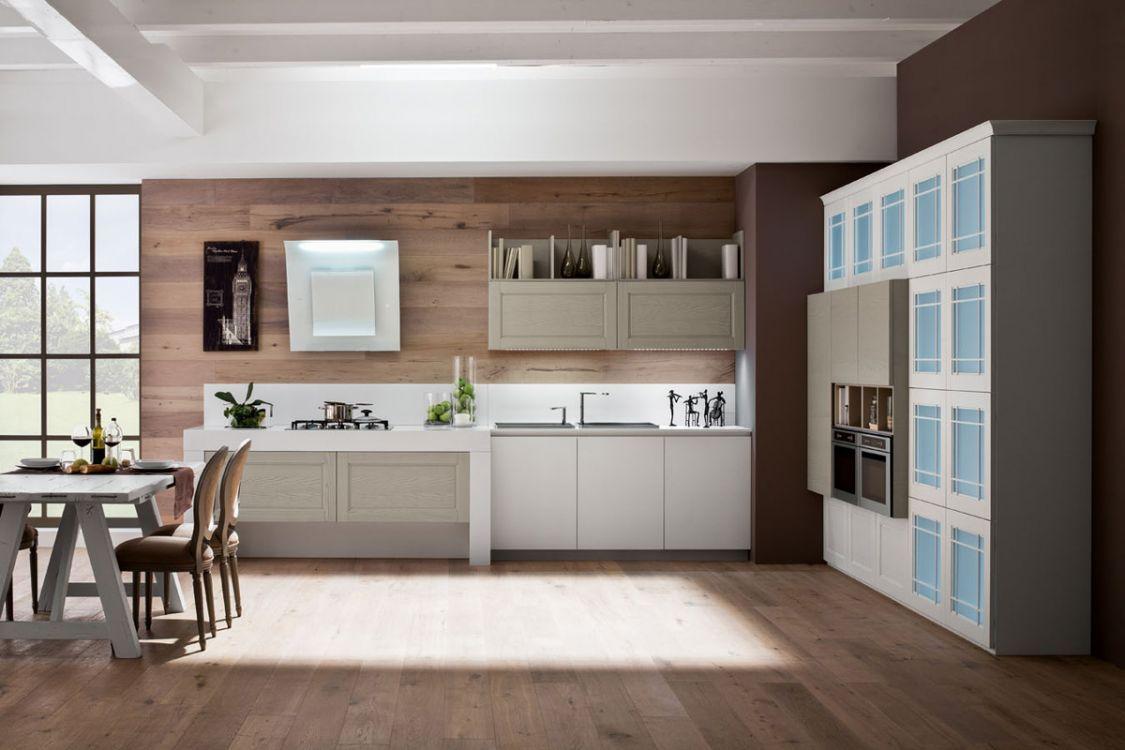 Cucina Alice in legno dallo stile classico-contemporaneo: molto di ...