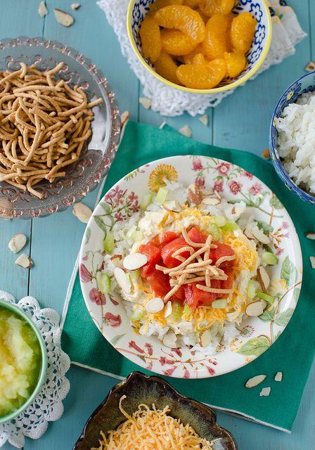 Hawaiian Haystacks Or Chinese Sundaes Recipe Blogger Recipes