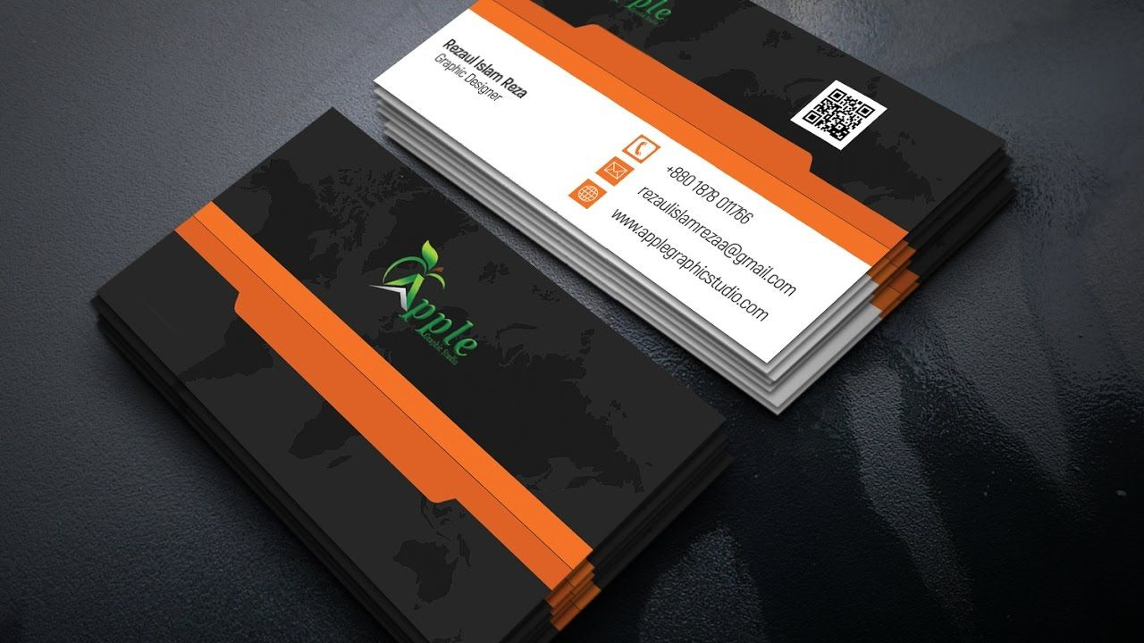 Make Business Card | Print Design | Photoshop Tutorial | Business ...