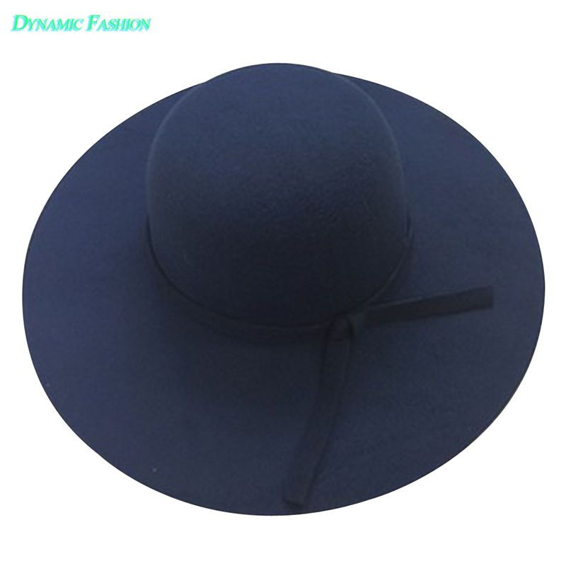 79785afed692 2018 New Stylish Vintage Women/'S Sunhat Lady With Wide Brim Wool ...