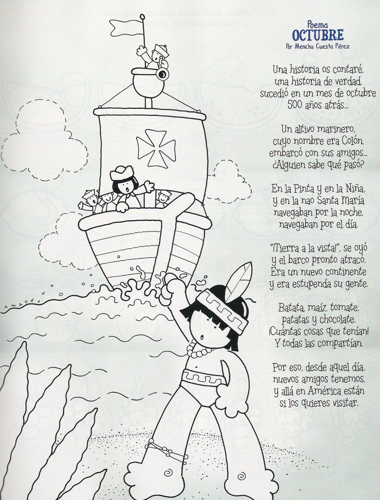 ✿ Poesías para trabajar el día de la PAZ listas para imprimir y ...