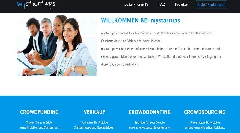#mystartups: Online Plattform für #Startups, #Geschäftsideen und innovative Projekte