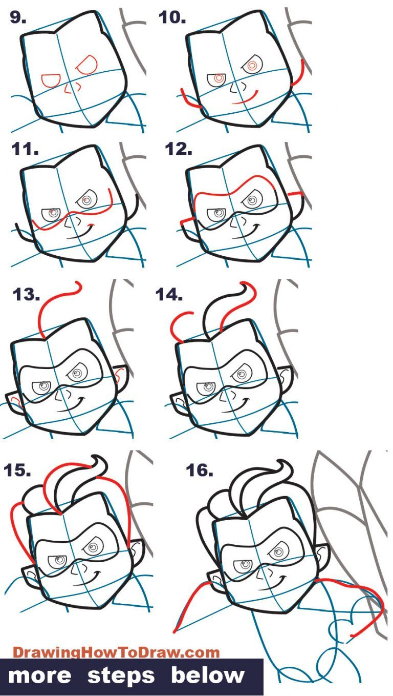 How to Dash from The Incredibles (Part 4 of Drawing The