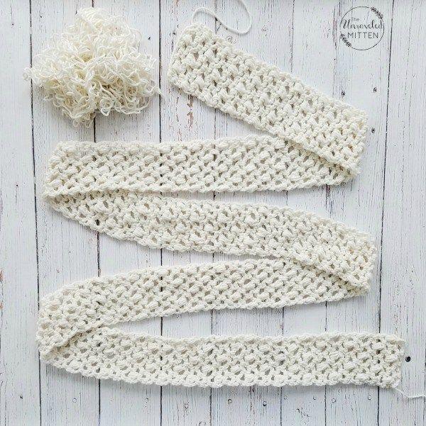 Easy Lace Scarf: Free Crochet Pattern | Crochet | Pinterest
