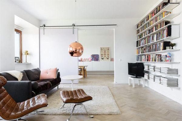 Die Design Hngelampe Aus Kupfer Von Tom Dixon Ist Vielseitig Einsetzbar Wir Haben Schne Zimmer Mit Dem Designklassiker Zusammengestellt