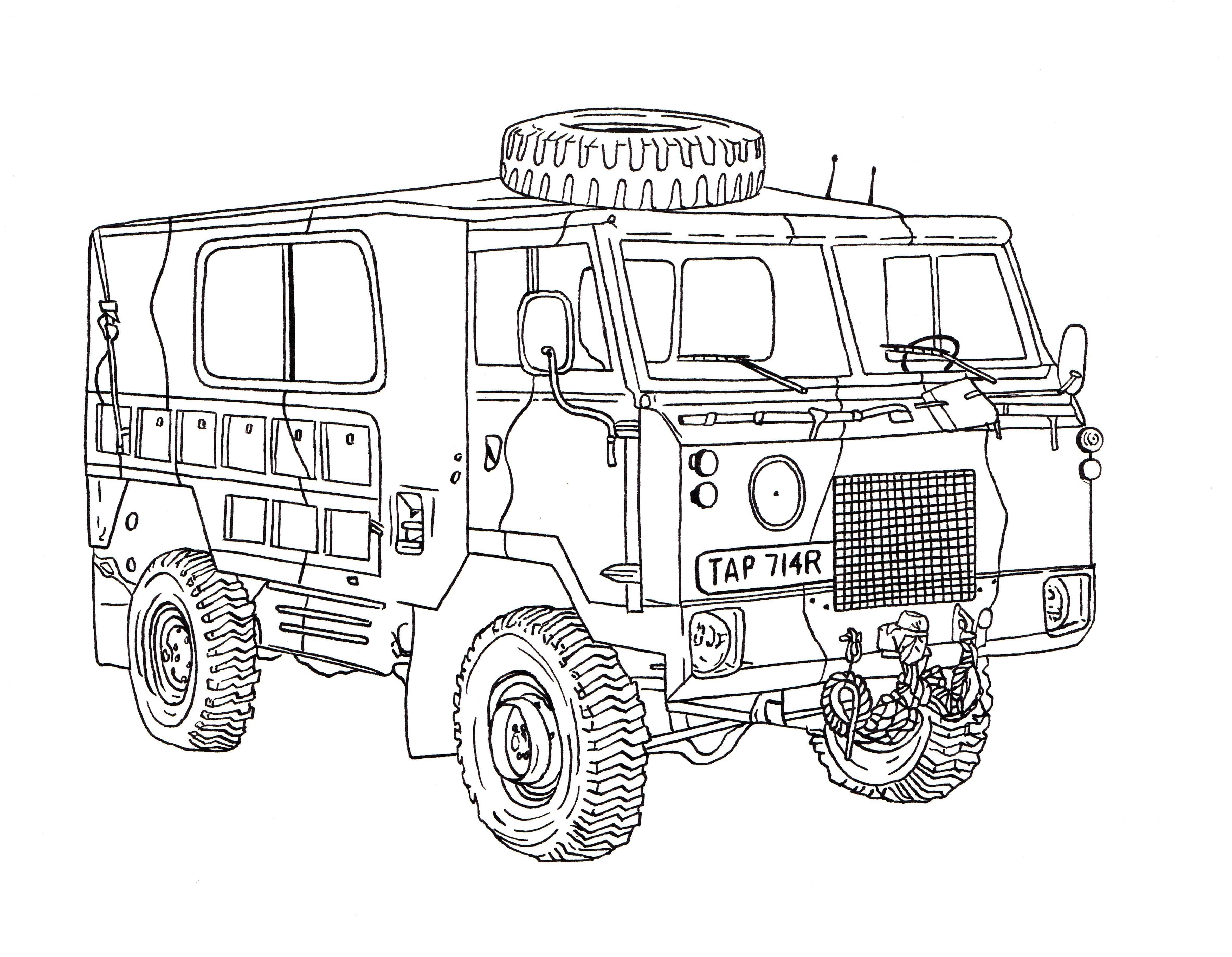 Land rover half ton lightweight ink drawing landy pinterest land rovers 4x4 and land rover defender