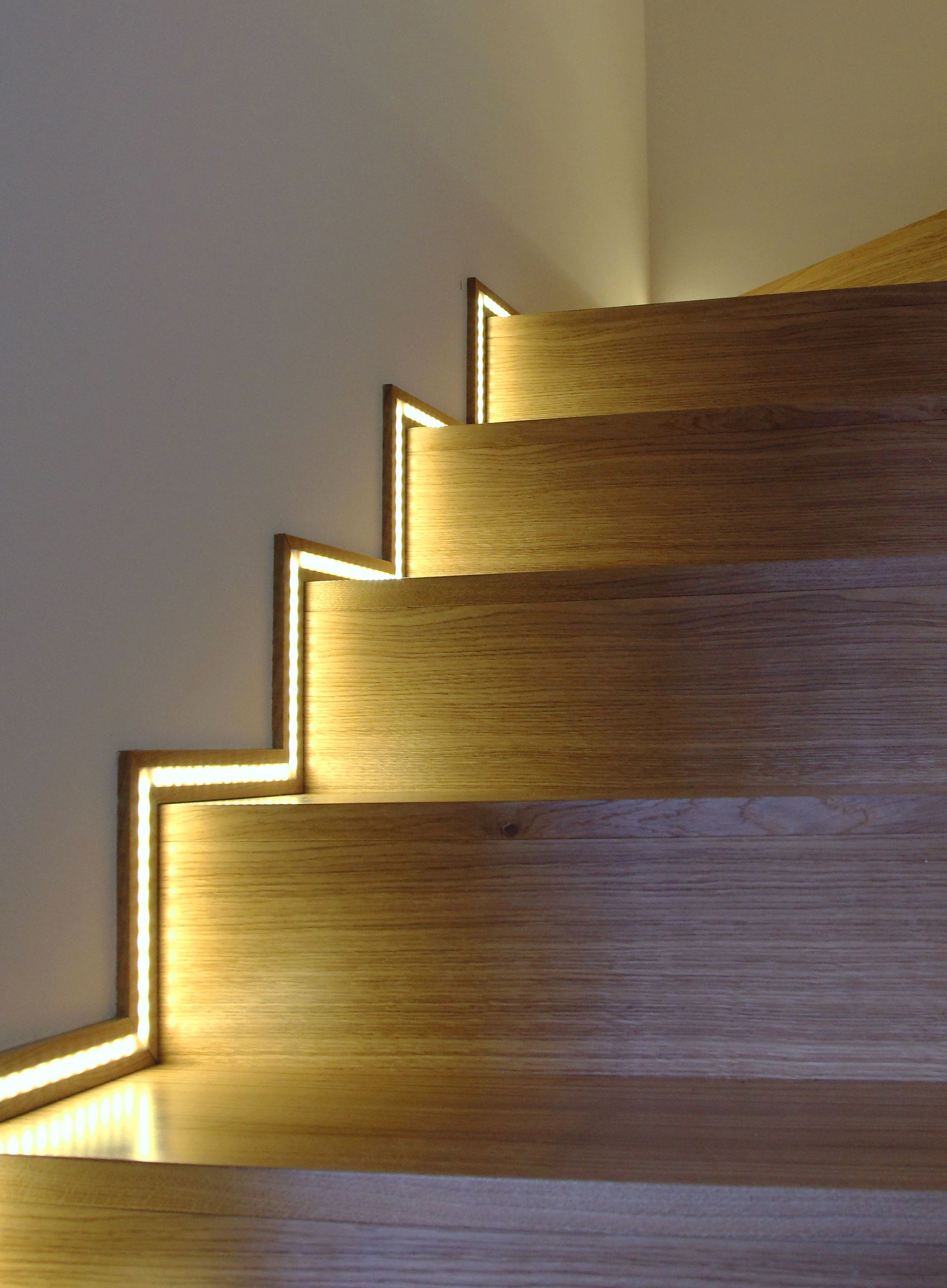 lighting for stairs. Interior Stairway Lighting. Side Lighting If You Have Super Square Lines ~ Love It. For Stairs S