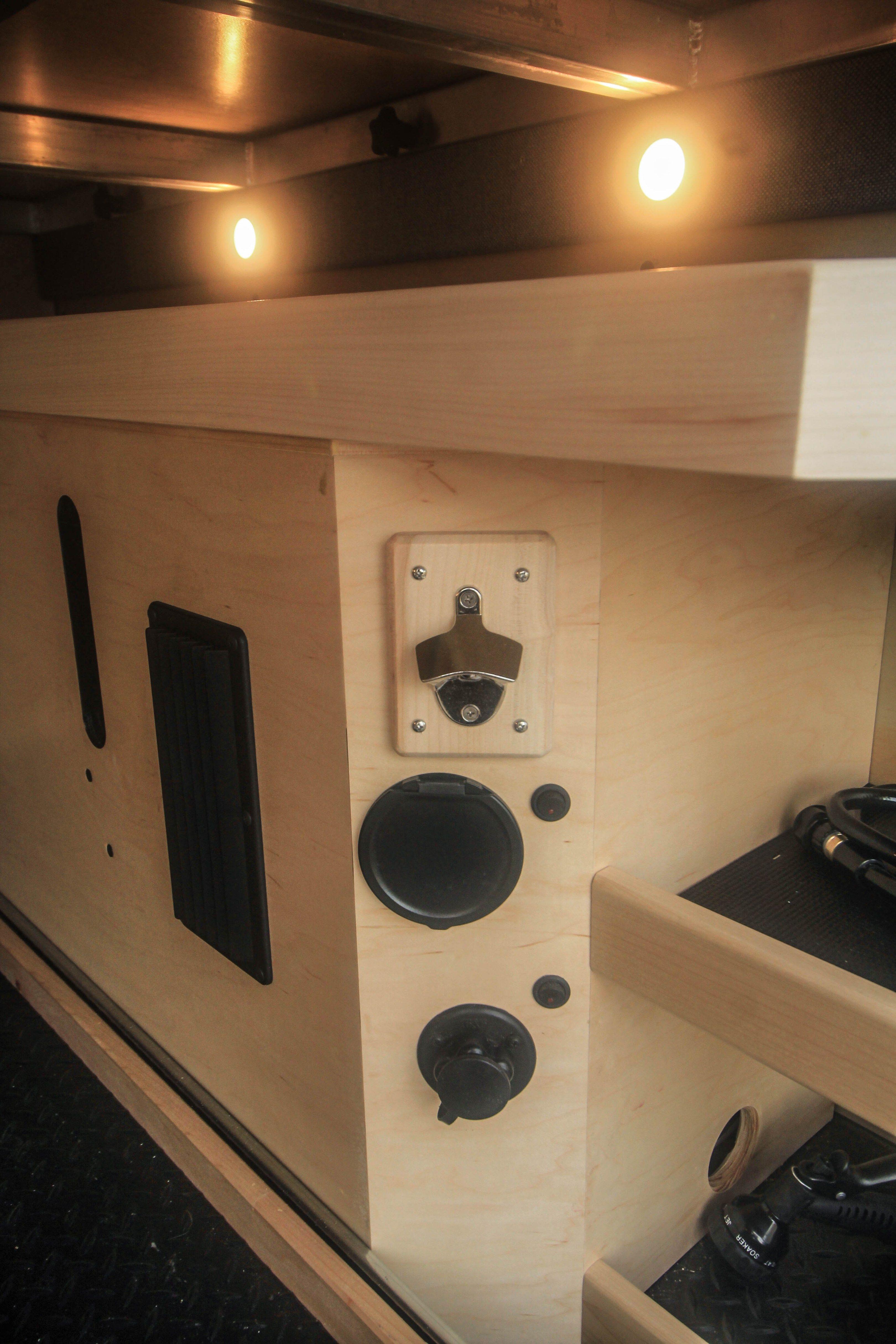 Hennessy Campervan interior, Camper van conversion diy