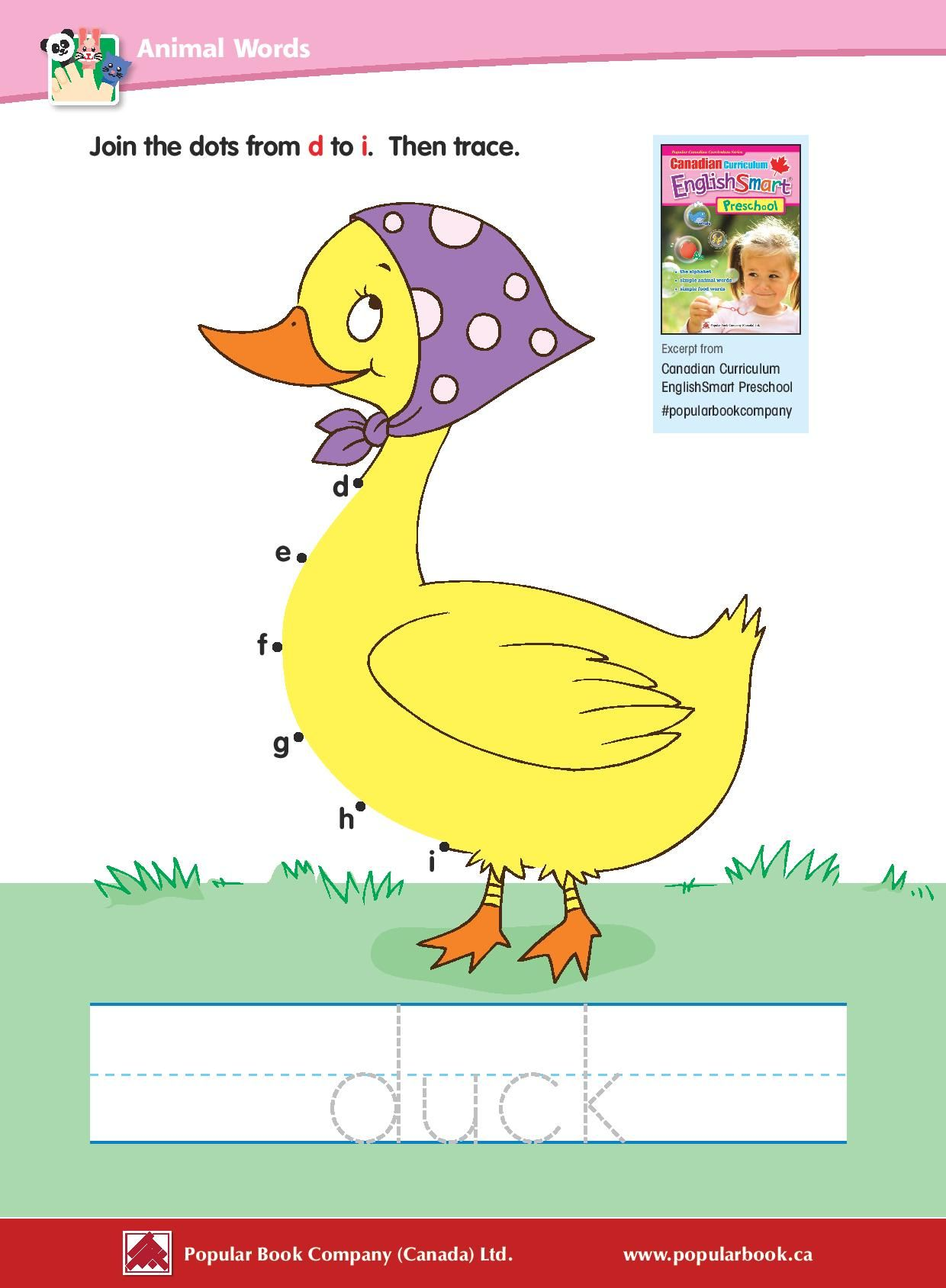 Download The Free Sample Pages From Canadian Curriculum Englishsmart Preschool Canadian