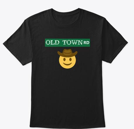 Pin On Sad Cowboy Emoji Old Town Road Shirt